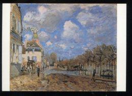 CPM Neuve Arts Peinture Alfred SISLEY L'Inondation à Port-Marly 1876 - Paintings