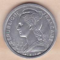 ILE DE LA REUNION. 1 FRANC 1948 AILE . ALUMINIUM - Reunión