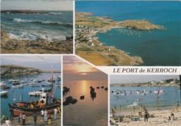 CPM Le Petit Port De KERROCH (Ploemeur) - Sur La Côte Lorientaise - Ploemeur