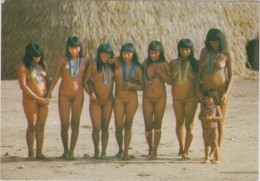 "CPM BRASIL NATIVO - ""Yamoricumà"" Dance With Indian Women Wearing ""uluri"" (jeunes Filles Nues) - Amérique"