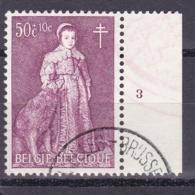 Belgie Plaatnummer COB° 1307-12.3 - Belgique