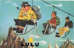 HUMOUR 100 : Alpiniste ; édit. Deriaz - Humour