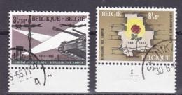 Belgie Plaatnummer COB° 1329.-32.1 - Oblitérés