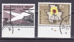 Belgie Plaatnummer COB° 1329.-32.2 - Oblitérés