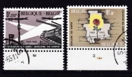 Belgie Plaatnummer COB° 1329.-32.3 - Oblitérés