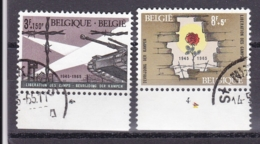 Belgie Plaatnummer COB° 1329.-32.4 - Oblitérés