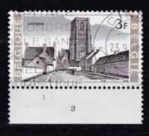 Belgie Plaatnummer COB° 1466-69.3 - Oblitérés