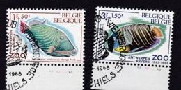 Belgie Plaatnummer COB° 1470-73.2 - Oblitérés
