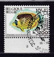 Belgie Plaatnummer COB° 1470-73.3 - Oblitérés