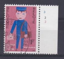 Belgie Plaatnummer COB° 1511.3 - Oblitérés