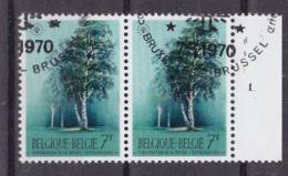 Belgie Plaatnummer COB° 1526-27.1 - Oblitérés