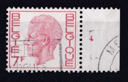 Belgie Plaatnummer COB° 1581.87.4 - Oblitérés