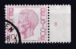 Belgie Plaatnummer COB° 1581.87.3 - Oblitérés