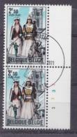 Belgie Plaatnummer COB° 1593.3 - Oblitérés