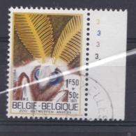 Belgie Plaatnummer COB° 1610-13.3 - Oblitérés