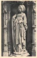 Brou Statuette Femme Tombeau Philibert Le Beau - Sculptures