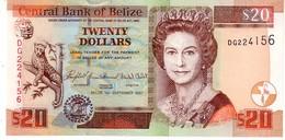 Belize P.69 20 Dollars 2007   Unc - Belize