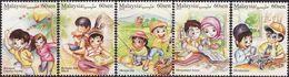 Malaysia 2018-20 Stamp Week -- Malaysian Lifestyles MNH Kite Music Fish Fishing Computer Automobile - Malaysia (1964-...)