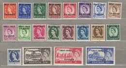 TANGIER 1957 MNH (**) Mi 91-110 SG 323-342 #23408 - Morocco Agencies / Tangier (...-1958)
