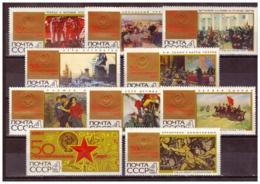 URSS704) 1967-LOTTO Dell ANNATA - 6 Serie Cpl 30 Val MNH** - 1923-1991 URSS