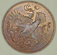 Isle Of Man - 2 Pence - 1980 -  Die No. AD - Elizabeth II - AUNC With Luster - Regionale Währungen