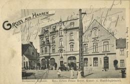 HAAREN, Aachen, Restaurant Redoute (1907) AK - Aachen