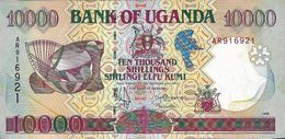 Uganda P.38 10000 Shillings 1995 A-unc - Uganda