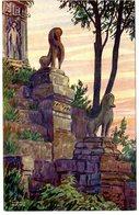 CAMBODGE  ANGKOR  ESCALIER DU PRE RUP  -  TRES BELLE ILLUSTRATION - Cambodia