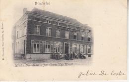 """Westerloo - Hotel """"Den Anker"""" Jos. Geerts-Van Houdt - Geanimeerd - Uitg. D. Hendrix, Antwerpen - Hotels & Restaurants"""