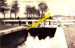 SAINT-GHISLAIN - Le Sas N°3 - Carte Animée - Saint-Ghislain