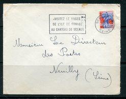 Enveloppe De SCEAUX (Seine) De 1960 - Y&T N°1234 - Marcophilie (Lettres)