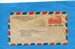 Marcophilie-lettre Saint Pierre Et Miquelon>Françe-cad1958- Stamp N° 342 - St.Pierre Et Miquelon