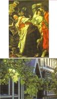 """2 Cartes Postales """"Cart'Com"""" - Série Expositions, Salons, Musées - Musée Roybet-Fould - Musées"""