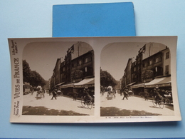 NICE : Le Boulevard Mac-Mahon - S. 91 - 3908 ( Maison De La Bonne Presse VUES De FRANCE ) Stereo Photo ! - Photos Stéréoscopiques