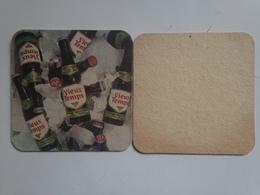 Posavasos Cerveza Vieux Temps. Mont Saint Guibert, Brabante, Bélgica. Años '80 - Sous-bocks