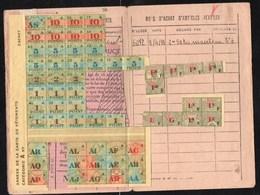 Vieux Papiers > Cartes > Autres Carte De Vêtements Et Textiles 1942 - Maps