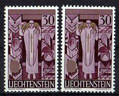 Liechtenstein 1959 // Mi. 380 ** 2x - Liechtenstein