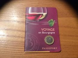 Livret Sur Le Vin, 25 Pages « VOYAGE En Bourgogne - PASSEPORT» - Autres Collections