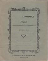 Protege Cahier  L Inusable      Librairie Le Henaff  Saint Etienne   Vert - Buvards, Protège-cahiers Illustrés
