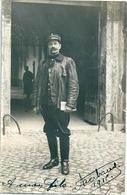 Carte-photo Militaire Adjudant 7ème Régiment Du Génie AVIGNON 1915 - Personaggi