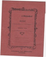 Protege Cahier  L Inusable      Librairie Le Henaff  Saint Etienne   Maron - Blotters