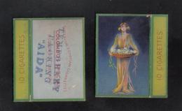 AIDA  LTD.CAIRO MALTA  PACKET OF 10 CIGARETTE - 1910 VERY RARE - - Empty Cigarettes Boxes