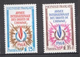 Polynésie Française, Superbe ** 62/63 - French Polynesia