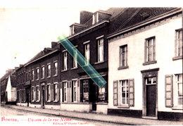 """BOUSSU - Un Coin De La Rue Neuve - Edit: V. Durez-Capart """"avec """"La Librairie V. Durez-Capart"""" Au Milieu De La Carte - Boussu"""