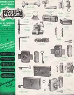 Robert Marcel  Catalogue Vieux Outils  Canedas  Et Tarif  En 1949 - Non Classés