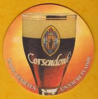 Sous-bock Cartonné - Bière - Belgique - Corsendonk - Un Sacré Plaisir - Zalig Genieten - Beer Mats
