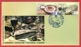 Armenien / Armenie / Armenia / Artsakh / Karabakh 2018, Gastronomy, National Cuisine - FDC - Armenia