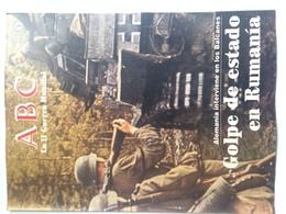 Fascículo Alemania En Balcanes, Golpe De Estado En Rumanía. ABC La II Guerra Mundial. Nº 9. 1989 - Espagnol