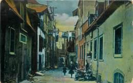 Canada - Quebec - Sous Le Cap Street - Lower Town In 1909 - Québec - La Cité