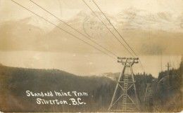 Canada - British Columbia - Silverton BC - Standard Mine Tram In 1914 - Brits-Columbia
